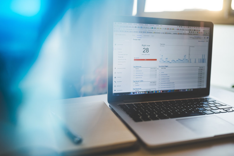 what is google analytics real time report