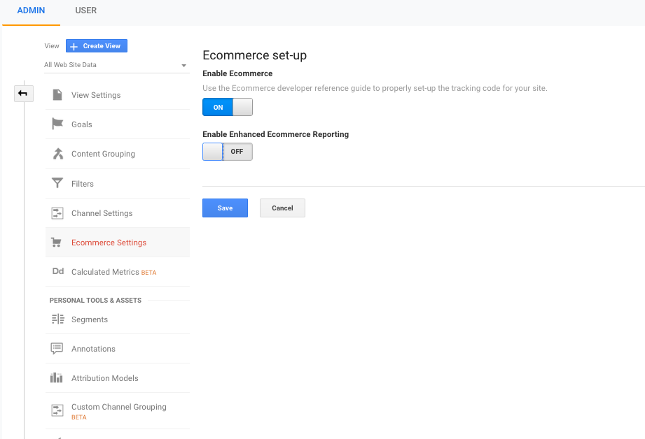 google-analytics-admin-ecommerce-setup